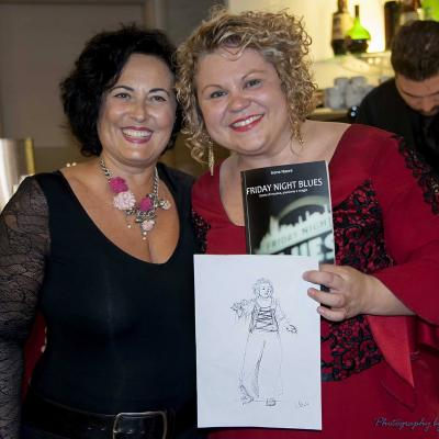 Linda Valori e Irene Nanni al Friday Night Blues